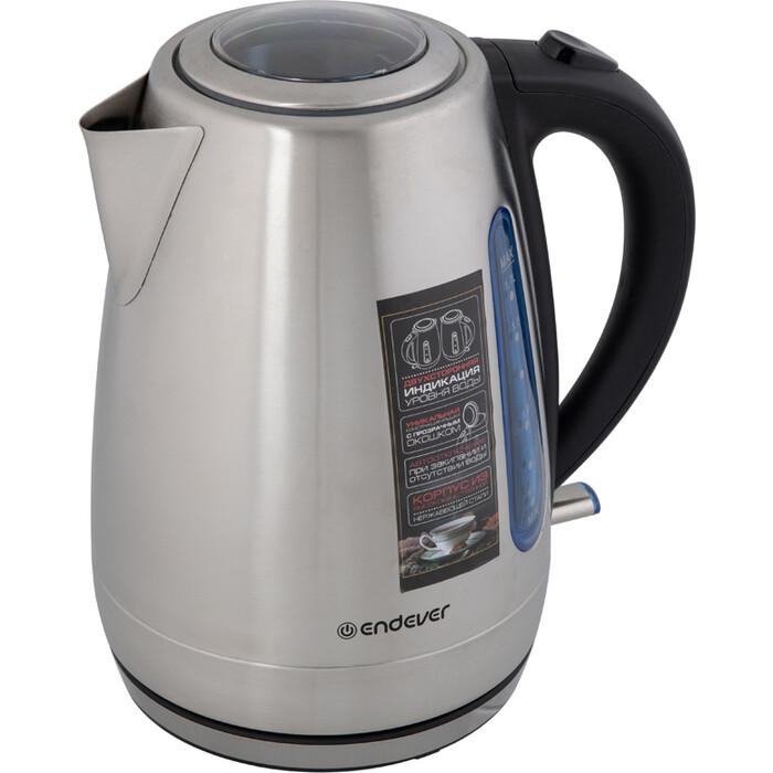 Чайник электрический Endever KR-228S стальной