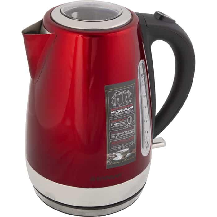Чайник электрический Endever KR-234S красный