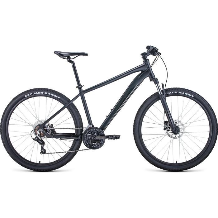 Фото - Велосипед Forward Apache 27.5 3.2 Disc (2021) 21 черный матовый/черный велосипед giant escape 3 disc 2021 металик черный m