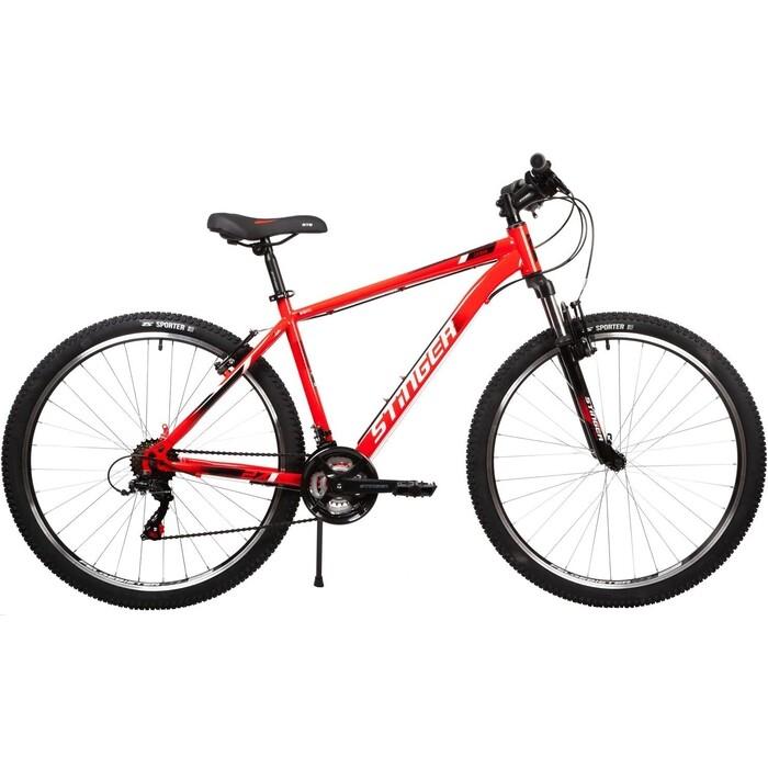 Велосипед Stinger Caiman 27.5 (2021) 18 красный