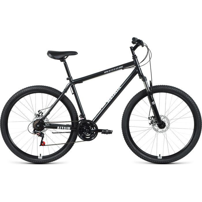 Велосипед Altair MTB HT 27.5 2.0 disc (2021) 17 черный/серебристый