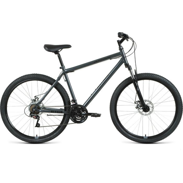 Велосипед Altair MTB HT 27.5 2.0 disc (2021) 19 темно-серый/черный