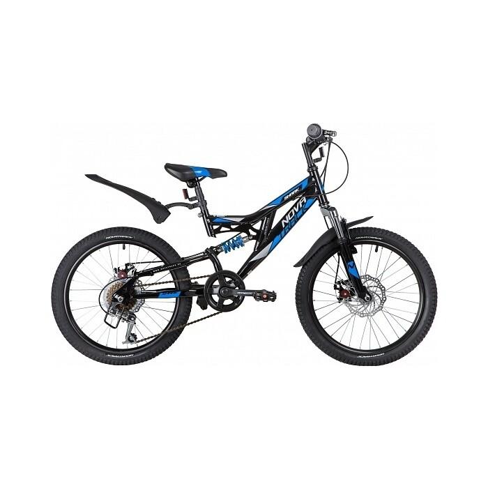 Фото - Велосипед NOVATRACK Shark 20 6-sp Disc (2020) черный велосипед giant escape 3 disc 2021 металик черный m
