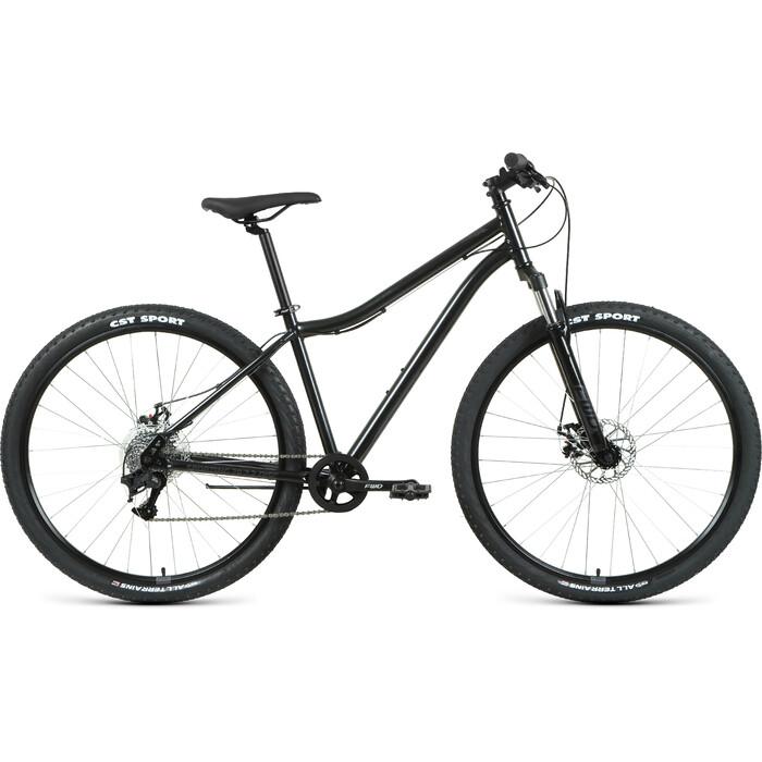 Фото - Велосипед Forward Sporting 29 2.2 Disc (2021) 19 черный/темно-серый велосипед giant escape 3 disc 2021 металик черный m