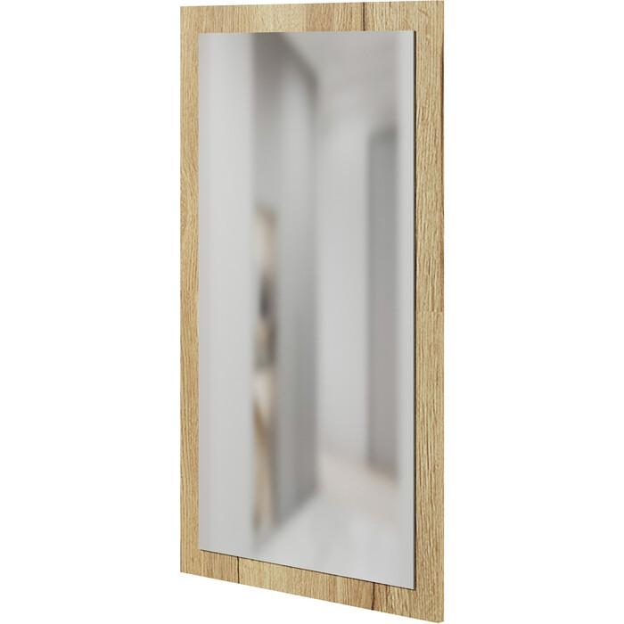 Панель с зеркалом СОКОЛ ПЗ-3 дуб делано панель с зеркалом пз 3 дуб сонома бежевый лдсп