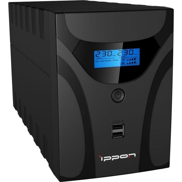ИБП Ippon Smart Power Pro II 1600 960Вт 1600ВА черный (1005588)