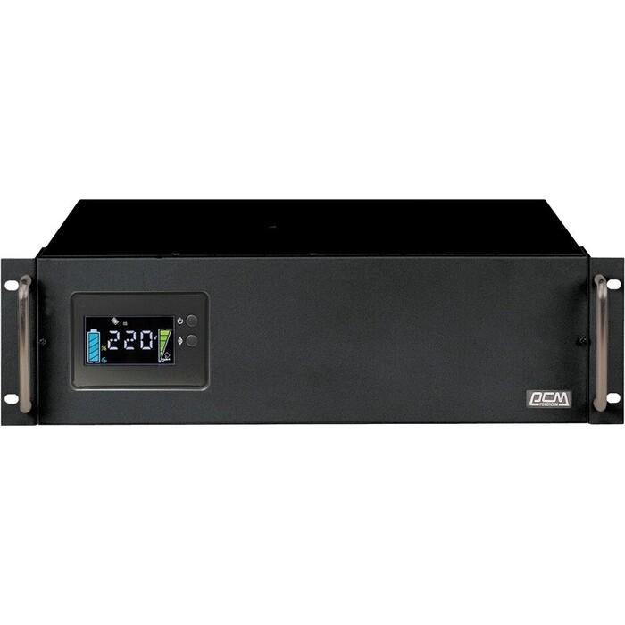 ИБП PowerCom King Pro RM KIN-2200AP LCD 1760Вт 2200ВА черный