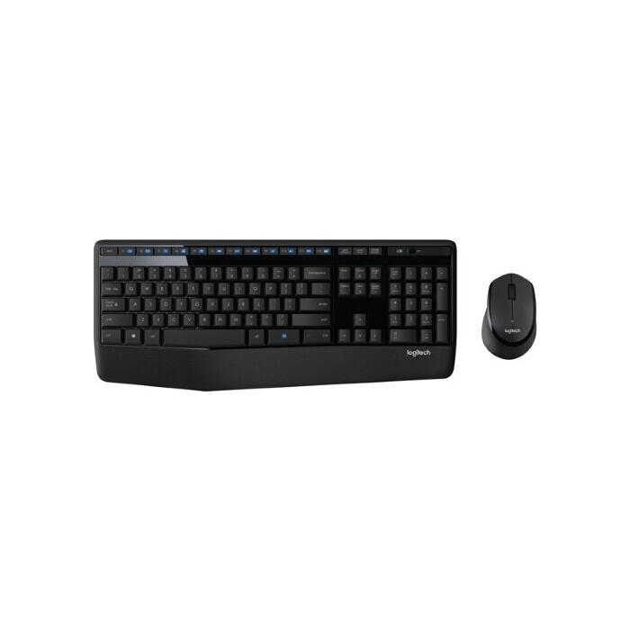 Комплект клавиатура и мышь Logitech Wireless Desktop MK345 (920-008534)