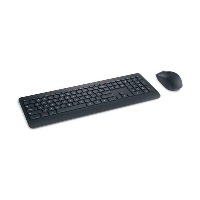 Комплект клавиатура и мышь Microsoft 900 клав-черный мышь-черный USB беспроводная Multimedia клавиатура мышь acer okr030 клав черный мышь черный usb беспроводная slim