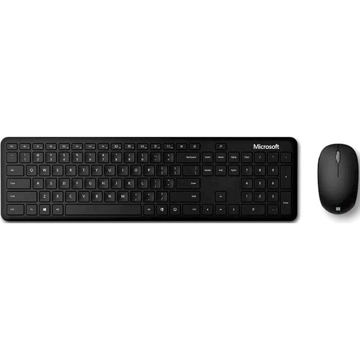 Комплект клавиатура и мышь Microsoft Bluetooth Desktop клав-черный мышь-черный беспроводная BT slim