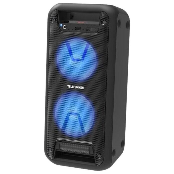 Минисистема TELEFUNKEN TF-PS2206 черный 120Вт/ FM/USB/BT/SD