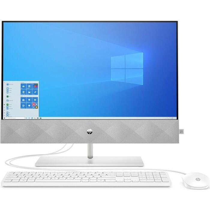 Моноблок HP Pavilion 24-k0013ur white (Core i3 10300T/4Gb/256Gb SSD/noDVD/VGA int/W10) (14Q34EA)