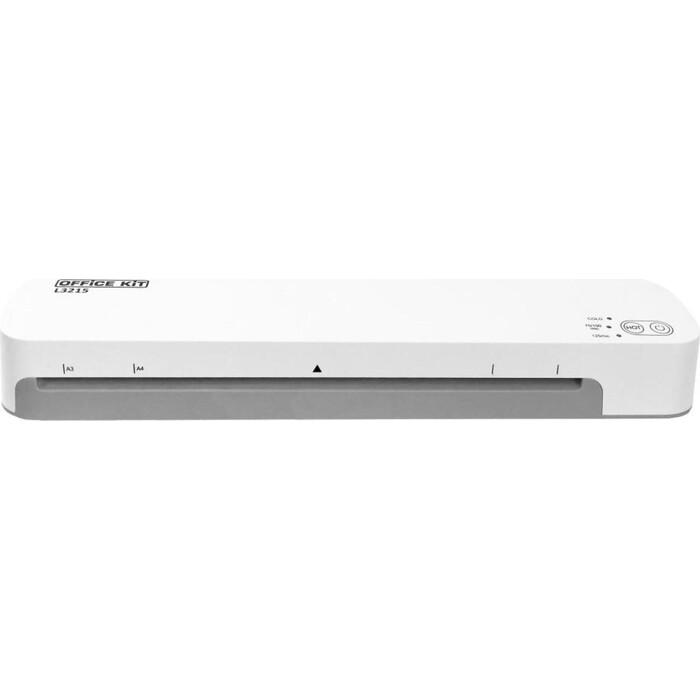 Фото - Ламинатор Office Kit L3215 белый A3 (60-125мкм) 42см/мин (2вал.) хол.лам. лам.фото office kit cutter a3