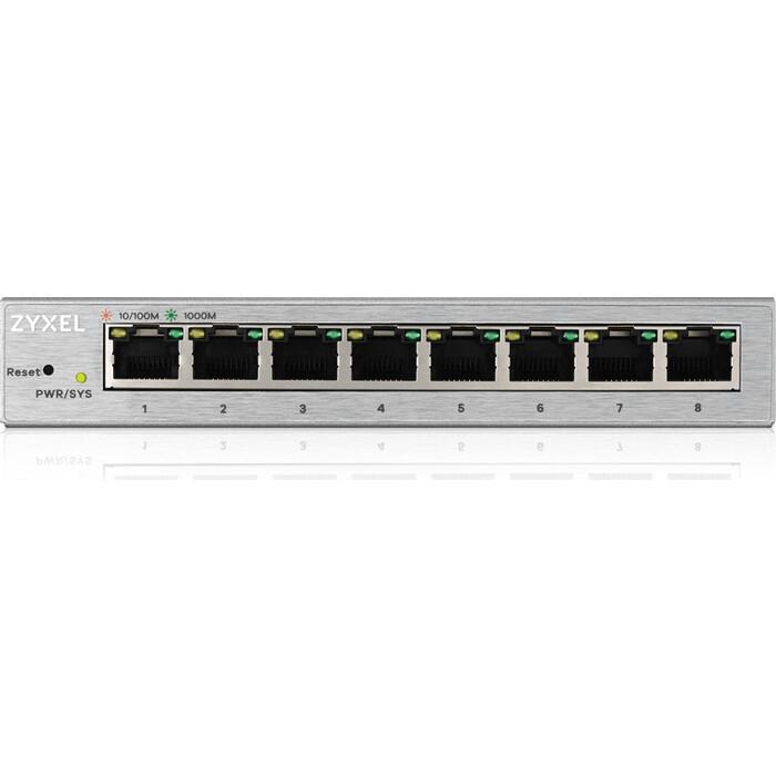 Коммутатор ZyXEL GS1200-8-EU0101F 8G управляемый