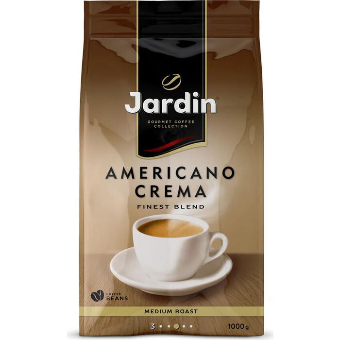 Кофе зерновой JARDIN Americano Crema 1000г. (1090-06-Н) diego maenza bestiário americano