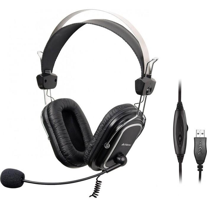 Гарнитура A4Tech HU-50 черный