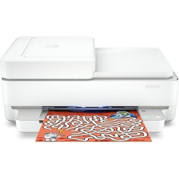 Фото - МФУ HP DeskJet Plus Ink Advantage 6475 мфу hp deskjet plus ink advantage 6075 белый