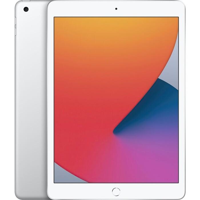 Фото - Планшет Apple iPad 10.2 Wi-Fi + Cellular 32GB Silver 2020 (MYMJ2RU/A) планшет apple ipad 10 2 2020 wi fi 32gb mylc2ru a gold