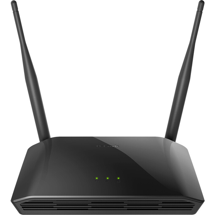 Роутер D-Link DIR-615/T4 N300 10/100BASE-TX черный
