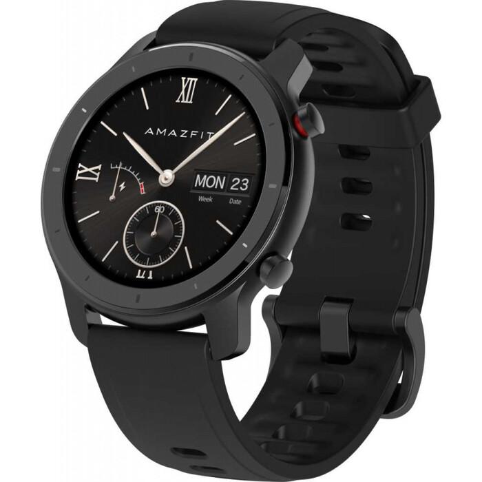 Смарт-часы Amazfit GTR 42мм 1.2 AMOLED черный