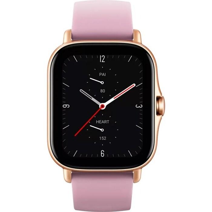 Смарт-часы Amazfit GTS 2e A2021 1.65 AMOLED золотистый смарт часы samsung galaxy watch super amoled розово золотистый