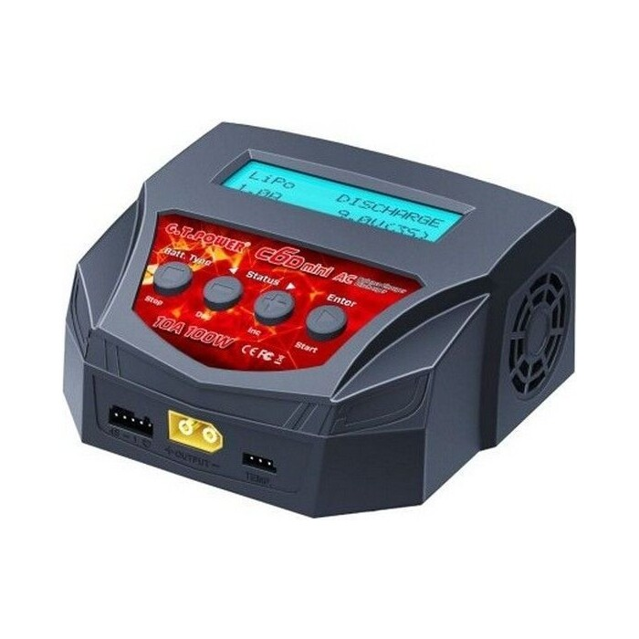 Универсальное зарядное устройство G.T.Power C6D Mini 100Вт