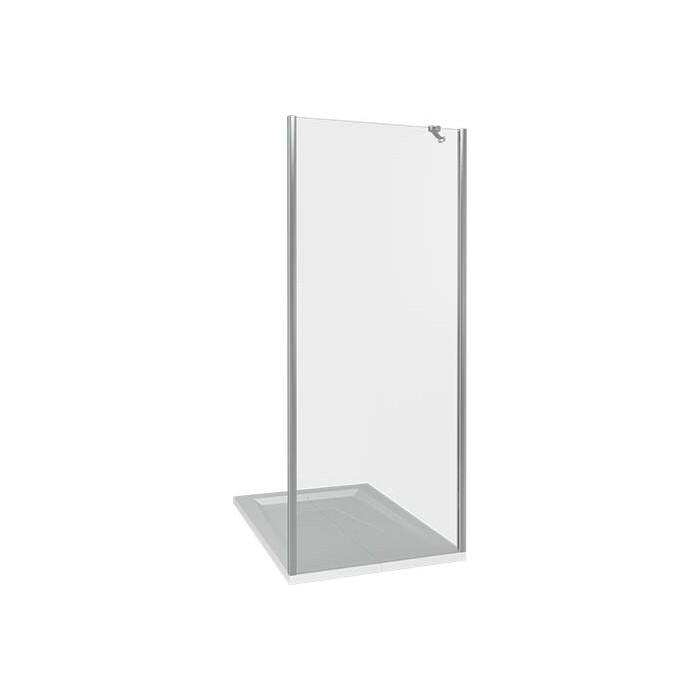 Боковая стенка Good Door Pandora 90 стекло прозрачное, профиль хром (SP-90-C-CH)