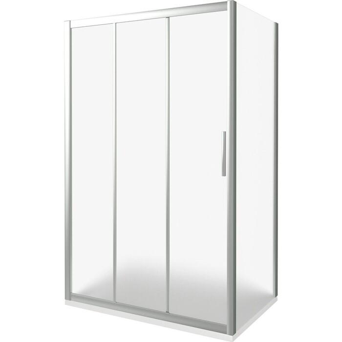 Душевая дверь Good Door Orion 130 стекло рифленое, профиль хром (WTW-130-G-CH)