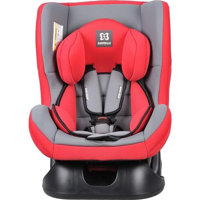Автокресло Farfello GE-B Красно-серый (red+grey)