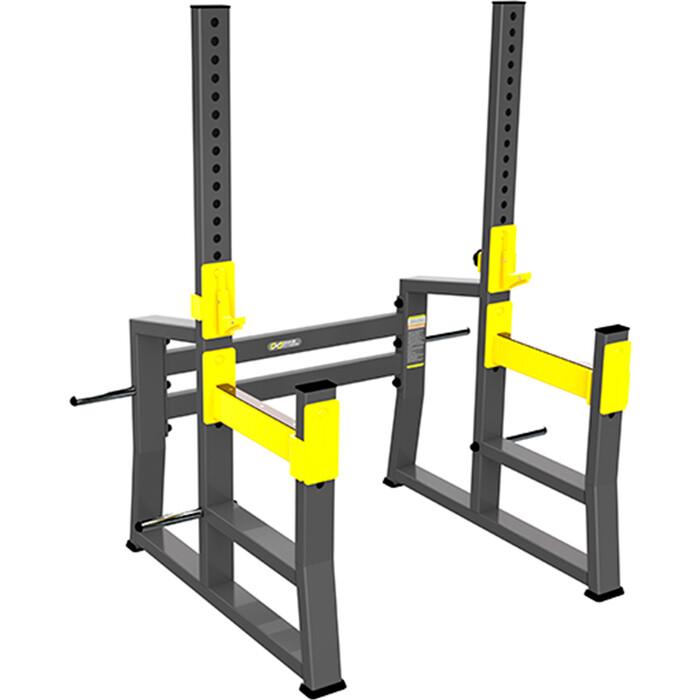 Стойка для приседания и жима DHZ FITNESS Squat Rack с ограничителями