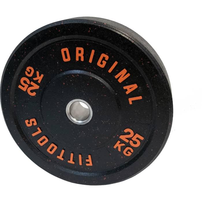 Диск бамперный Original FitTools 25 кг FT-RPI-25