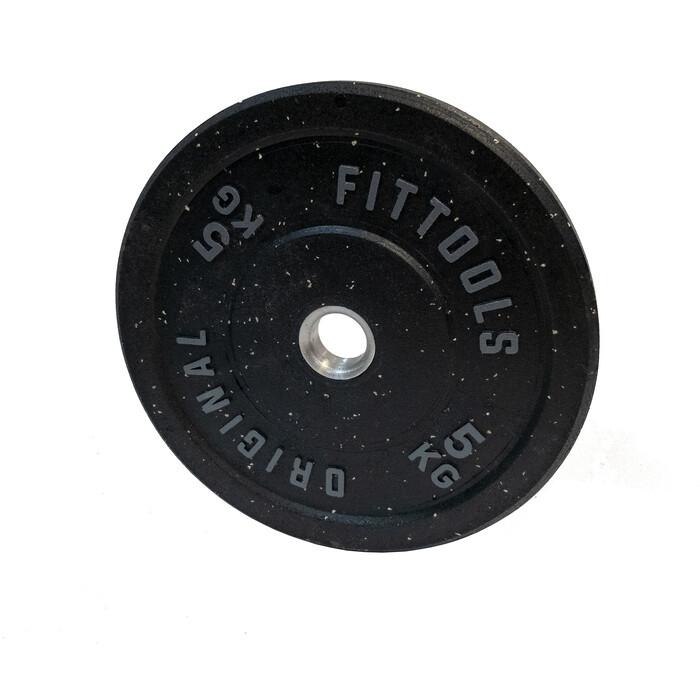Диск бамперный Original FitTools 5 кг FT-RPI-5