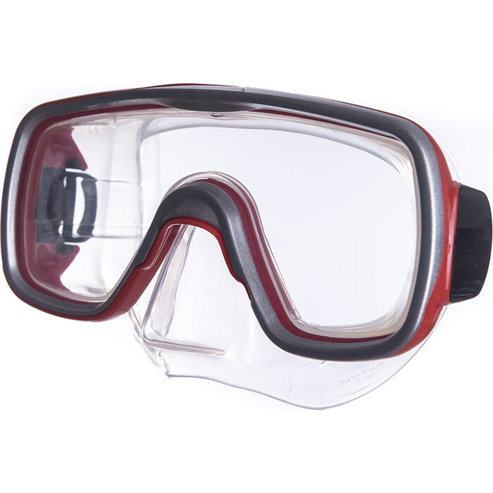 Маска для плавания Salvas Geo Sr Mask, арт. CA175S1RYSTH, закален.стекло, силикон, р. Senior, красный маска для плавания salvas geo sr mask арт ca175s1rysth закален стекло силикон р senior красный