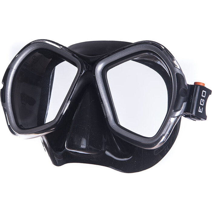 Маска для плавания Salvas Phoenix Black Mask, арт. CA520N2NYSTH, зак.стекло, силикон, р. Senior, черн