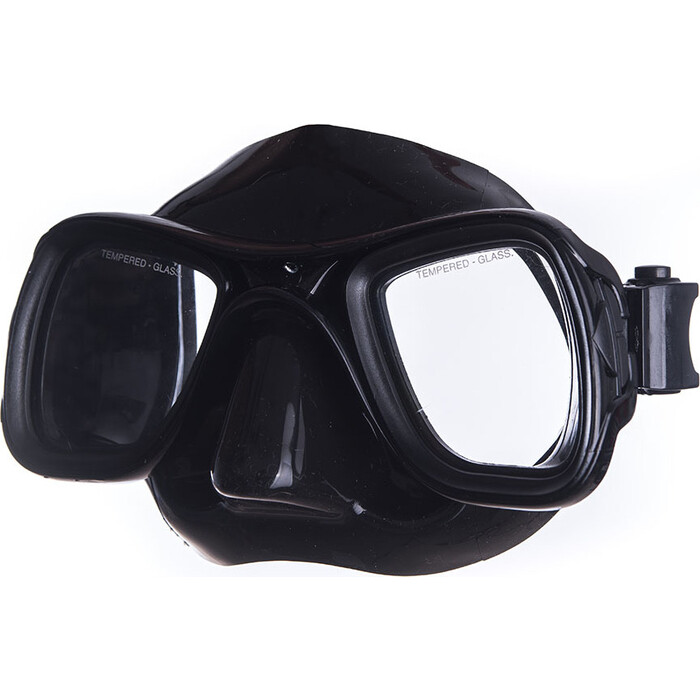 Маска для плавания Salvas Sphera Black Sil., арт. CA570N2NNSTH, закален.стекло, силикон, р. Senior, черн маска для плавания salvas phoenix mask арт ca520s2bysth зак стекло силикон р senior сереб син