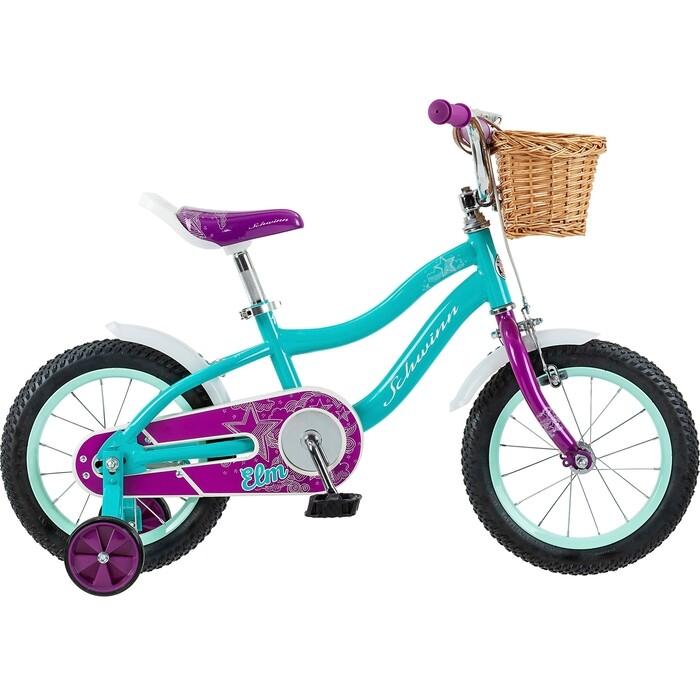 Фото - Велосипед Schwinn 14 Elm + корзина детский, голубой детский велосипед tong yue 2 3 6 8 12 14 16 18