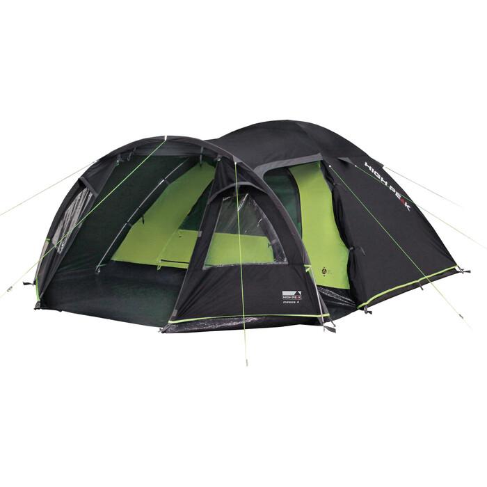 Палатка High Peak Mesos 4 darkgrey-green