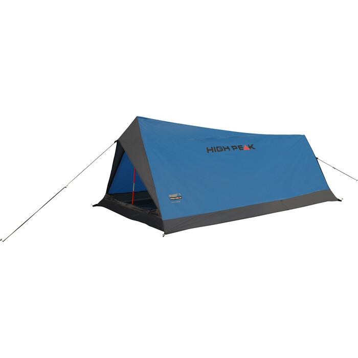 Палатка High Peak Minilite синий/серый, 100х200 см