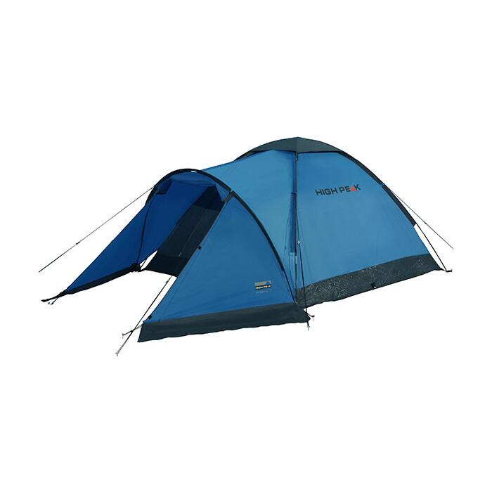 Палатка High Peak Ontario 3 синий/тёмно-серый, 305х180х120см