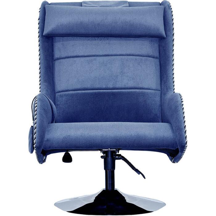Дизайнерское кресло массажное EGO Max Comfort EG3003 Galaxy Blue