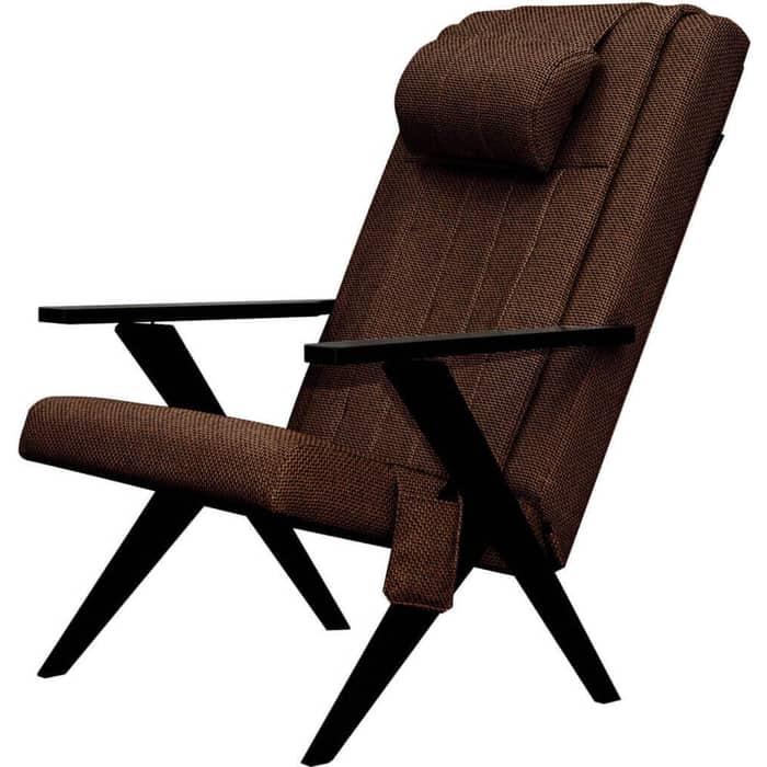 Массажное кресло шезлонг EGO Bounty EG-3001 коричневый