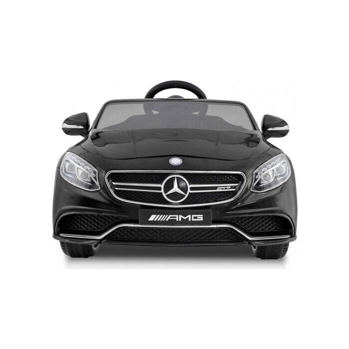 электромобили harleybella mercedes benz sl500 Детский электромобиль Harleybella Mercedes-Benz S63 AMG 12V черный - HL169-B