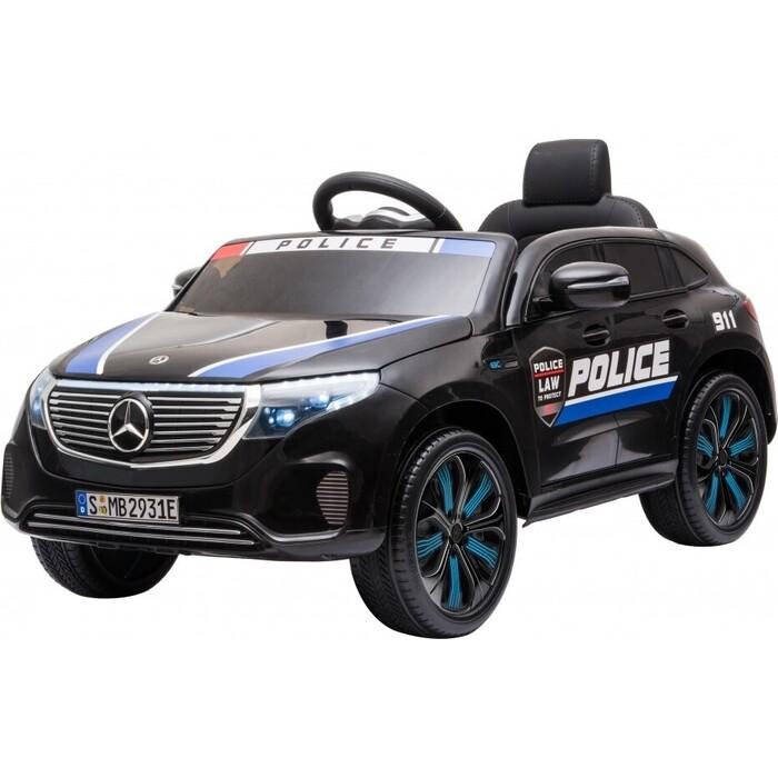 электромобили harleybella mercedes benz sl500 Детский электромобиль Harleybella Mercedes Benz Police EQC 400 4MATIC - HL378-BLACK