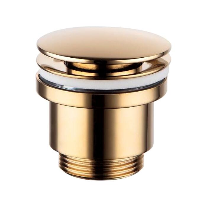 Донный клапан Lemark Click-clack 5/4 универсальный золото (LM8500G)