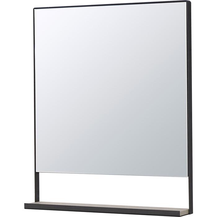 Зеркало Акватон Лофт Урбан 65 с полочкой, дуб орегон (1A254102LQX50)