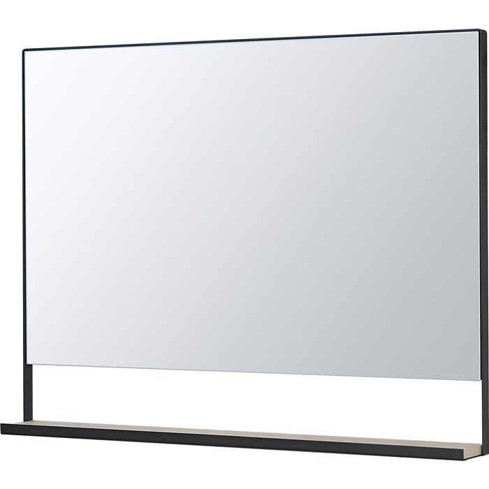 Зеркало Акватон Лофт Урбан 100 с полочкой, дуб орегон (1A248002LQX50)