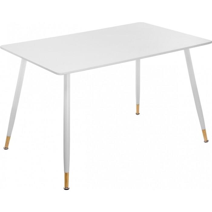 Стол Woodville Bianka белый прямоугольный стеклянный стол woodville анселм белый
