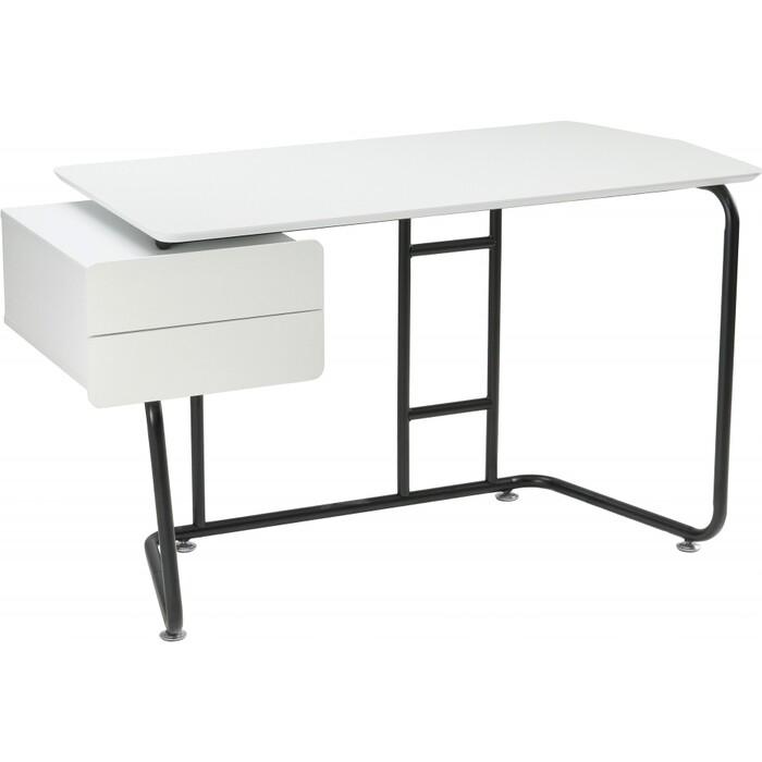 Компьютерный стол Woodville Desk white/black