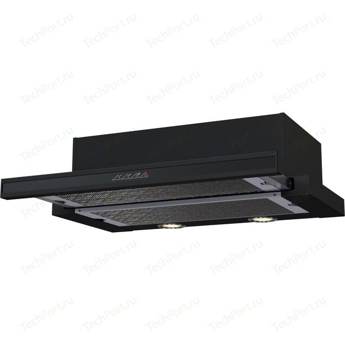 Встраиваемая вытяжка Krona Kamilla sensor 600 black (2 мотора) kronasteel angelica sensor 600