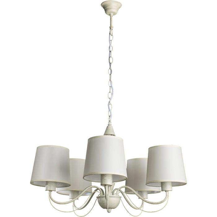 Люстра Arte Lamp A9310LM-5WG люстра подвесная на цепи arte lamp a6114lm 5wg